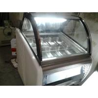 China Portable Popsicles Ice Cream Display Case With Optional Trays / Ice Cream Display Unit wholesale