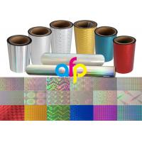 China Colorful / Transparent Laser Holographic Film With Patterns 180 - 1880mm Width wholesale