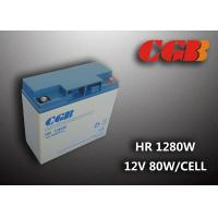 China Non Spillable Valve Regulated Lead Acid Rechargeable Battery 12v 18ah UPS EPS Power Supply wholesale