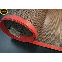 China Acid Resistance teflen Conveyor Belt , Screen Printing Dryer Belt For Food Drying wholesale