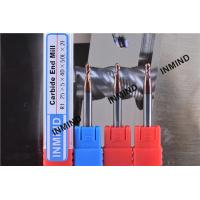 Quality Copper Colour SiN Coating, 2 Flute Ball Nose End Mill , R1.25, Grain Size 0.5UM for sale