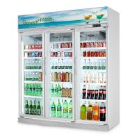 China Glass Door Display Refrigerator Showcase with Digital Temperature Controller wholesale