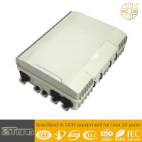 China Outside Ftth Splitter Cabinet , Fiber Optic Distribution Unit With 24SC Adaptor wholesale