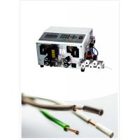 China Automatic Wire Stripping Cutting Machine ,  Wire Cutter And Stripper wholesale