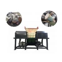 China Automatic Four Shaft Shredder Machine For Coconut Fiber / Artificial Leather on sale