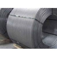Buy cheap Deoxidizer Desulfurizer 225g/M Ca28-35 CaSi Cored Wire from wholesalers