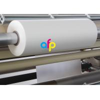 Buy cheap 18 Mic Matte Lamination Film For UV Varnish 17 - 250 Micron Thickness Optional from wholesalers