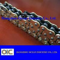China Custom 520 X Ring Motorcycle Chain With Black Inside Yellow Outerside wholesale