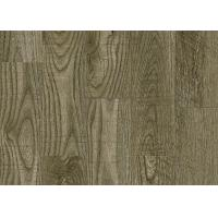 China Fashionable Smooth Pvc Flooring Materials Wood Effect Conform To Production Process SGS wholesale