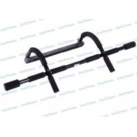 China Exercise Equipment Push Up Handle Bars / Home Gym Door Mounted Pull Up Bar wholesale