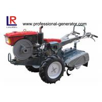 Quality Hand Walking 7HP Diesel Oil Power Tiller Agriculture Machine CE / ISO Certificated for sale