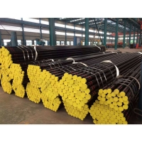 China ASTM A106 GR.B Black-painted Carbon Seamless Steel Pipe/BS1387 Seamless Steel Pipe/schedule 80 alloy seamless steel pipe wholesale