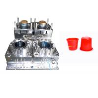 PP PA ABS Plastic Bucket Mould Cold Runner Multi Cavity High Hardness Long Life Time