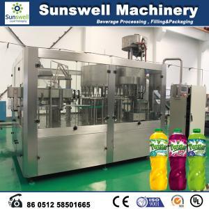 China Rotary Multi-Head Hot Filling Machine , Tea And Juice Filling Line wholesale
