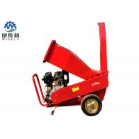 China Hitch 3 Point Wood Chipper Machine With 15hp Diesel Engine Electric Start wholesale