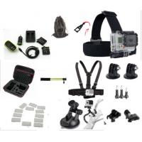 China Sport Camera Kit GoPro HERO 4 Accessories Carrying Case , Battery All In One Bundle wholesale