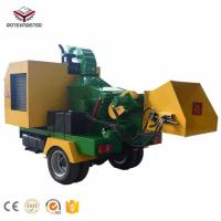 China Professional Manufacturer forest machinery diesel engine mobile wood chipper on sale