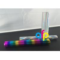 Quality Colorful Laser Holographic Foil , ISO9001 Approval Hot Foil Rolls For Stamping for sale