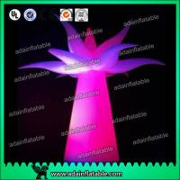 China 3M Festival Events Hotel Decoration Inflatable Flower Tree With LED Light wholesale