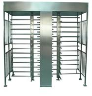 Quality RS485 interface bi - direction full height turnstile with memory function for exhibition for sale