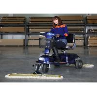 China Industrial Tool Three Wheel Dust Cart Scooter Driving Type With 600mm / 900MM Mopping wholesale