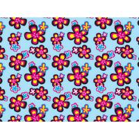 China Printed Coated Polyester Fabric For Luggage , PVC Polyester Fabric wholesale