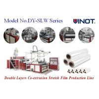 China Vinot Ltd. Computer  Stretch Film Machine to be customed  for U.S. with  Red Color  Model No. SLW-1000 wholesale