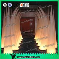 China 3M 210T Polyester Cloth Wedding Event Decoration Inflatable Tusks wholesale