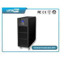 China 0.8 Power Factor Tower Type High Frequency Online Ups 6k-10k With LED / LCD Display Selectable wholesale