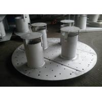 China Pan / Plate Type Column Internals Customized Size For Basic Chemical Column wholesale