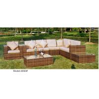 China outdoor sofa furniture rattan modular sofa --9060 wholesale
