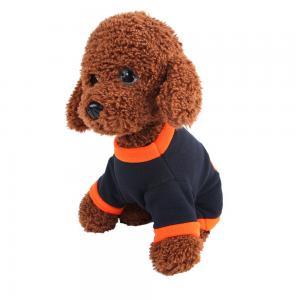 China Orange / Black Color Halloween Dog Sweaters High Flexibility 20 - 37CM on sale