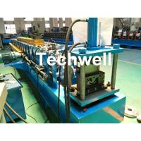 China Durable Seamless Gutter Machine With Welded Wall Plate Structure Forming Structure wholesale
