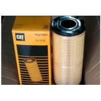 China Paper Media Caterpillar Fuel Filters , Heavy Duty Filters For Truck Generator wholesale