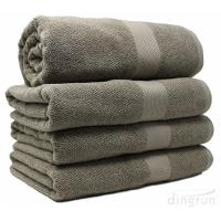 China Extra Large 100% Cotton Soft Thick Absorbency and Durability Bath Towels wholesale