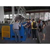 China Straight Line Continuous Wire Rod Drawing Machine , Ironed Cast Copper Wire Making Machine wholesale