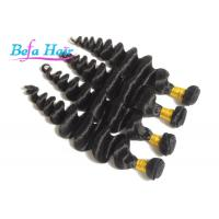 China Smooth Loose Wave Eurasian Virgin Hair Wefts , Dark Brown / Golden Blonde Hair Extensions wholesale