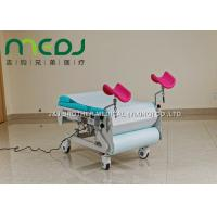 Waterproof Obstetric Labour Table , Leather Mattress Gynecology Operating Table