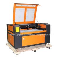 China Embroidery Fabric Co2 Laser Cutting Machine with Japan CCD Camera  UG-1290 wholesale