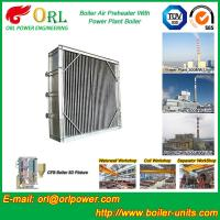 China Plate Type Boiler Air Preheater Alloy Steel , Boiler APH Energy Saving wholesale