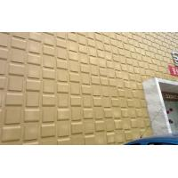 China Fire Resistant Cladding 3D Wall Coverings Water Proof Alkaliproof Exterior 3D Wall Panels wholesale