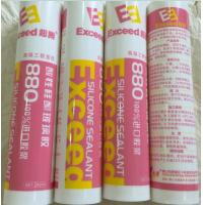 China High - Performance  Acetoxy Silicone Sealant Organic High Modulus wholesale