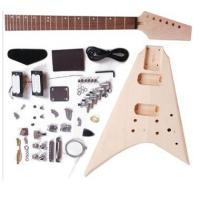 China Flying V Shape DIY Electric Guitar Kits / Unfinished Guitar Kit AG-FV2 wholesale