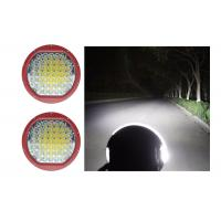 Quality High Intensity 225W Round 9 Inch Driving Lights With Spot Flood Covers LED Work for sale