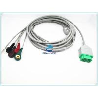 China GE Marqutte ECG Patient Cable With Cip / Snap 11 Pin Connector 2.7m Trunk Cable wholesale