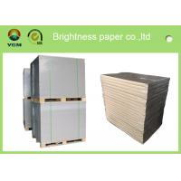 China Glossy Surface Cigarette Boxes Cardboard , Coated Duplex Board With Grey Back wholesale
