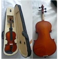 Quality Antique Half Size Student Classic Violin Handmade With Bow / Case for sale