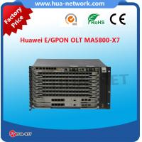 Buy cheap Huawei Original brand new Next-Generation OLT SmartAX MA5800-X7 EPON/GPON OLT with GPSF product