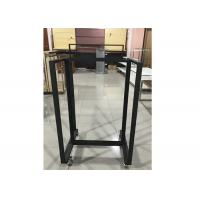 China Easy Assembly All Iron Gondola Display Stands Fashion Style For Retail Shop wholesale