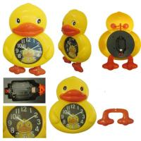 China Yellow Duck Design Alarm Clock for promotion gift wholesale